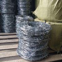 镀锌铁丝刺绳隔离网铁蒺藜小区监狱防盗带刺铁丝网