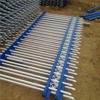 组装式锌钢护栏制作 庭院围墙栅栏 组装式方管围栏