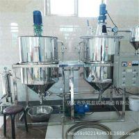 小型菜籽油精炼机组 食用油精炼设备 牡丹籽油精炼生产线