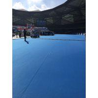 深圳龙岗会展中心专业安装展览地毯,阻燃地毯覆膜地毯等各种展会地毯