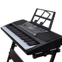 俏娃宝贝电子琴多功能宝宝中文儿童61键电子琴教学琴玩具钢琴电源