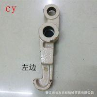 厂家专业供应 优质铁台湾江机压力杆 卷曲配件 机械设备配件