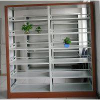 钢制书架单面双面书架图书馆书架阅览室书架钢制货架档案资料架