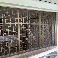 郑州烤漆铝窗花装潢 热转印铝窗花订做 方通焊接铝花格供应商