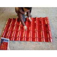 供应山西临汾800竹筒琉璃瓦设备生产厂家