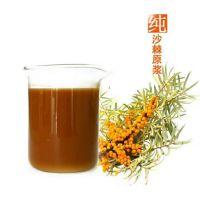 沙棘汁原浆 浓缩果汁 可做沙棘饮料