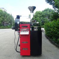 咖啡烘焙机2.5公斤烘焙量 双曲线输出咖啡烘焙机 双层滚筒咖啡烘焙机 南阳东亿