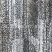 厂家批发外贸防水耐磨环保PVC片材地胶 佛山方形地毯纹石塑地板砖