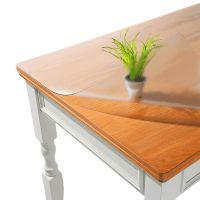 PVC桌布软玻璃磨砂透明餐桌布防水防烫防油免洗桌垫水晶板茶几垫