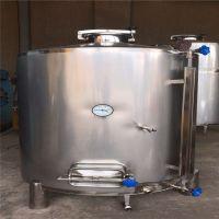 定做各种尺寸304不锈钢酒容器 白酒储存罐及酿酒设备