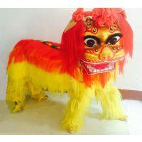 人造毛北狮舞龙舞狮北狮舞龙舞狮道具舞狮头龙狮子包邮