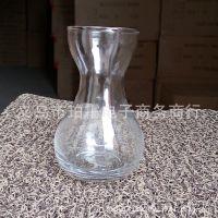 高白料烧口透明风信子专用葫芦瓶烘口水培玻璃花瓶摆件批发