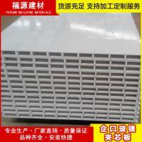 玻镁夹芯板中空夹芯板耐火泡沫夹芯瓦防火彩钢板彩钢夹芯板可定制