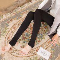 新款680D瘦腿春秋厚款美腿塑形锦纶打底连裤袜子
