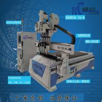 诺承NC-1325供应自动橱柜生产线 全自动三头雕刻机效率