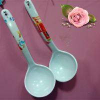 密胺小汤勺 长约18.2厘米防瓷胶勺 广州一元店日用百货地摊货源