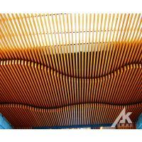 广东木纹铝方通天花多少钱一平米