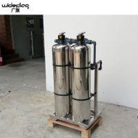 浙江东阳市2T/H优质水处理过滤罐,双面成型全自动氩弧焊接过滤罐