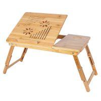竹折叠床上用电话桌 桌面电脑散热桌55*35