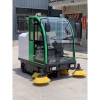 铝合金框架驾驶室电动扫地车 喷水吸尘 扫地一体式 美卓机械直销