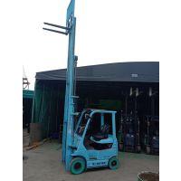 二手丰田电动叉车 升高6.5米丰田1.5吨电瓶叉车 电动叉车价格