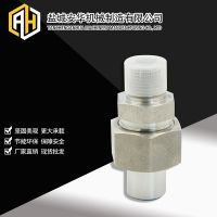 不锈钢焊接式高压直通管接头JB/T970