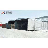 全国供应彩色PVC帆布伸缩透明雨棚大型仓库折叠遮阳雨棚