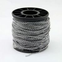 50cm一条2.4mm波珠链    彩色珠链   玩具挂链     服饰链条