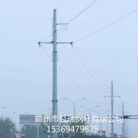 益瑞 打桩施工价格 钢桩基础厂家 基业 66kv钢管塔