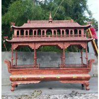 厂家铸造纯铜香炉 寺庙祠堂香炉 仿古铜大型公墓寺院铁铸香炉