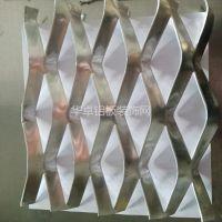Sus304金属装饰网 墙面斜织编织不锈钢菱型