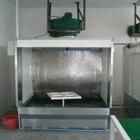 博远热销无泵水幕喷漆台 漆雾吸收处理专用环保无泵水帘柜