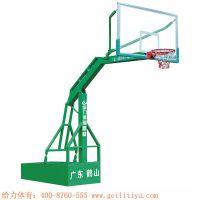 湖南职业中专学校旧球场改造丙稀酸球场、移动篮球架安装给力专业制造