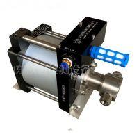 山东欣诺厂家供应气动液体增压泵,清水 高温水增压试压泵,乳化液增压泵,
