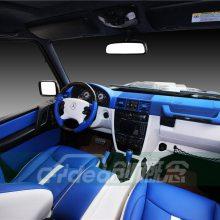广州奔驰G55内饰升级通风座椅,室内格外大气