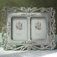 3.5寸欧式组合相框/浮雕镂空花纹像框/大气婚纱照片漂亮宝宝相架