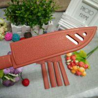 塑料柄水果刀 创意削皮刀 不锈钢黄套刀 一元店货源 厂家直销