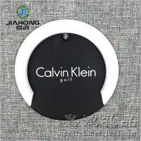 厂家定制CK品牌杯垫 硅胶圆形立体隔热垫 创意家居用品定做