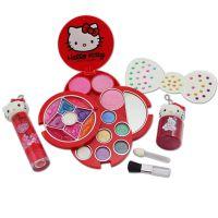 HelloKitty凯蒂猫儿童化妆品女孩玩具彩妆迷你彩妆手提袋一件代发