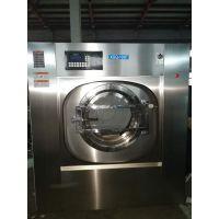 酒店宾馆布草洗涤设备 100公斤不锈钢宾馆工业用洗衣机