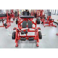 腿部屈伸训练器 悍马系列健身器材 健身房自由力量训练器 俯卧飞鸟训练器