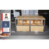 数码展示柜台1600*800*1200,京东之家全套展示道具直销厂家