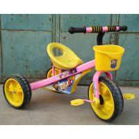 简易大三角儿童三轮车 三轮车 脚蹬三轮车 /脚踏车/童车/带框