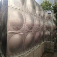 现场定做304组合式不锈钢异形水箱 无负压消防供水设备 型号齐全