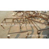 定制加工风格各异的不锈钢茶几脚 蛇形茶几脚 不锈钢餐厅桌椅