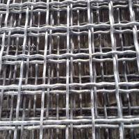 黑钢丝轧花网规格 太原锰钢丝轧花网 昆明矿筛网