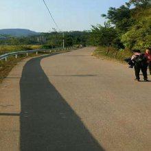 东方省道W型波形护栏款式 定城山间公路防护栏波形梁护栏