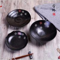 创意陶瓷碗 日式家用米饭碗小汤碗陶瓷碗汤勺礼品日本料理餐饮具