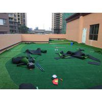幼儿园人造景观草 免充砂人造草卷材 全天候人造草坪