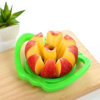 江湖地摊货 大号不锈钢切果器 分切器 带手柄水果小工具 苹果切T